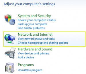 PPTP on Windows 7 - Network and Internet