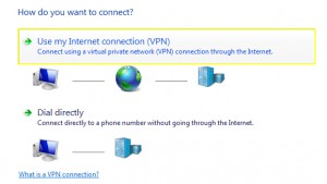 PPTP on Windows 7 - Use my Internet connectino (VPN)