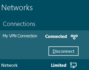 PPTP - windows 8 - disconnect