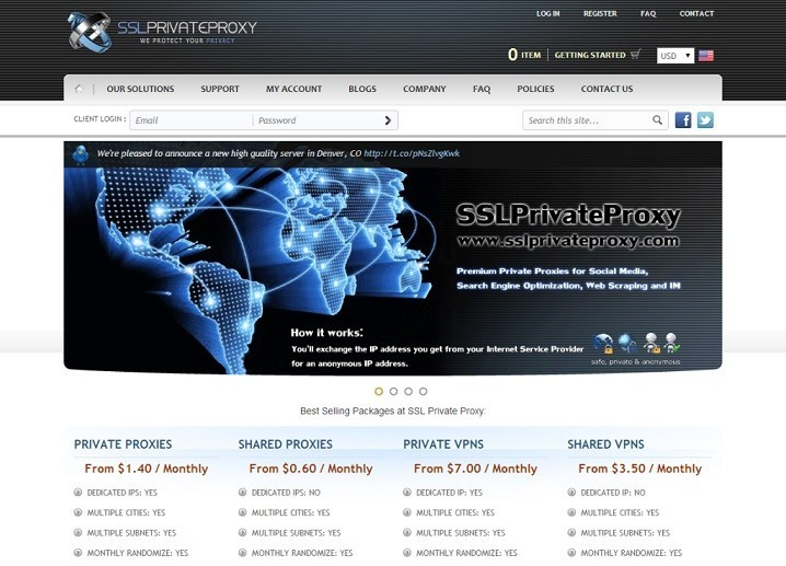 SSL Private Proxy - High Speed Craigslist Private Proxies for Local Ads