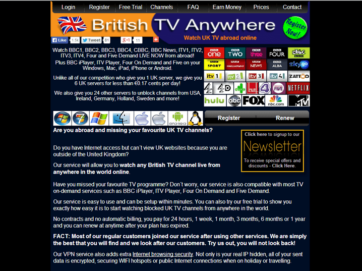 British TV Anywhere Review | VPNCoupons com