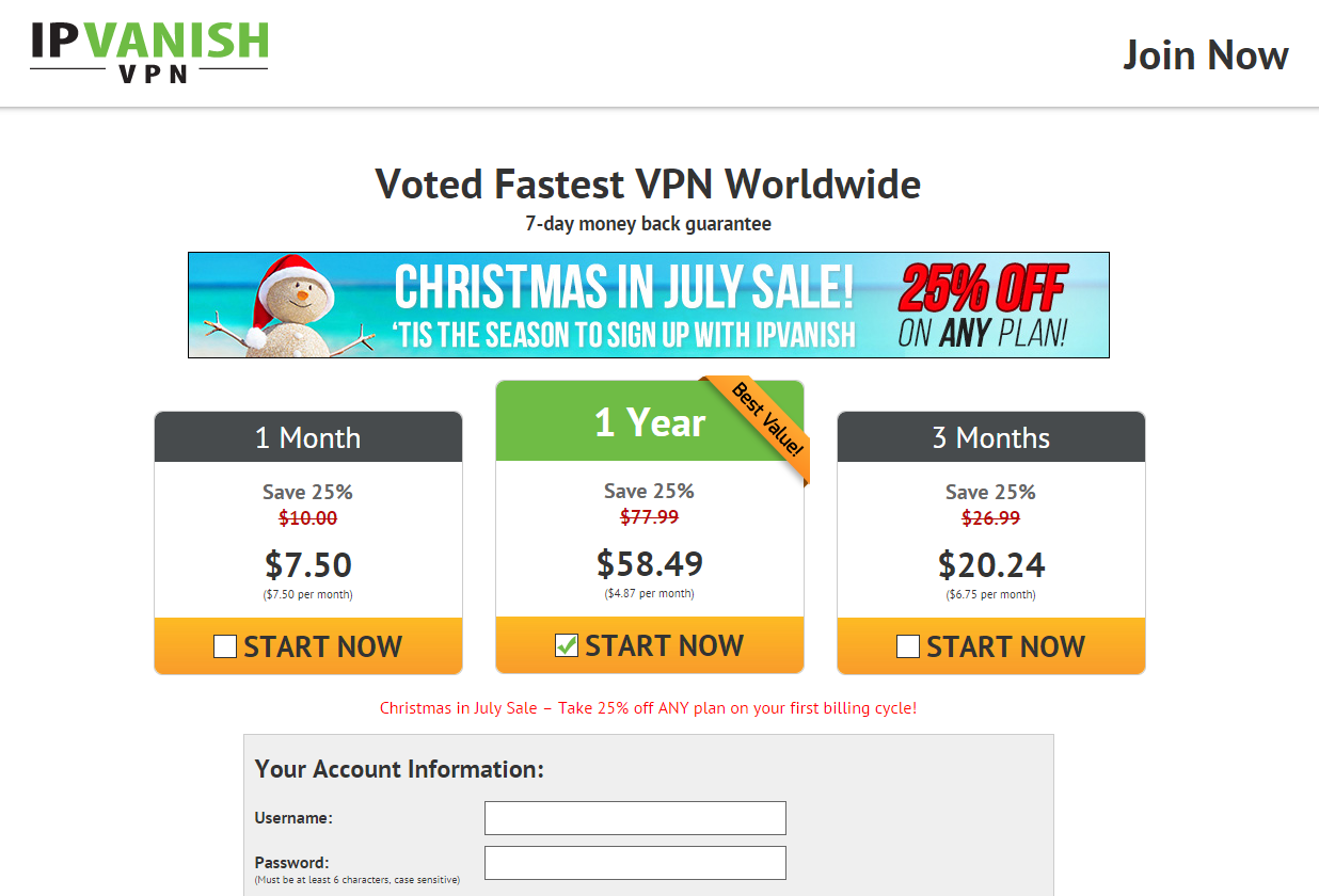 Ipvanish coupon code