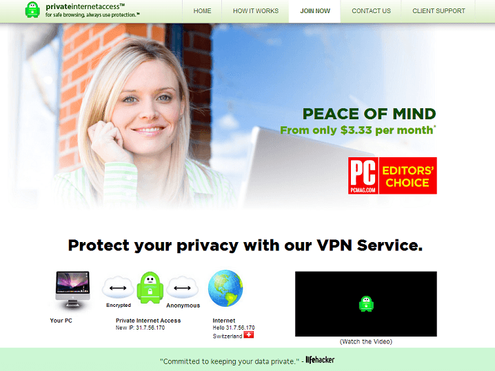 Private Internet Access Review | VPNCoupons com